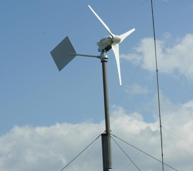 Neuer Windgenerator
